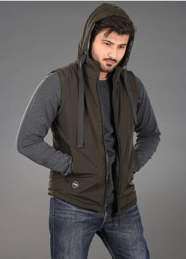 Sanaulla Exclusive Range Parachute Casual Hoodies for Men -  SAM18H 03