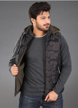 Sanaulla Exclusive Range Parachute Casual Men Hoodies -  SAM18H 04