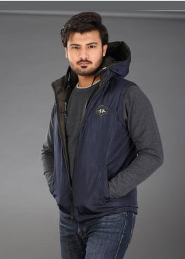 Sanaulla Exclusive Range Parachute Casual Hoodies for Men -  SAM18H 05