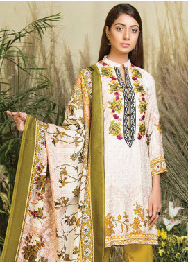 Hurrem Embroidered Chikankari Unstitched 3 Piece Suit HM19CK 19594 - Luxury Collection