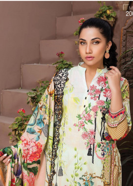 Master Fabrics Embroidered Lawn Unstitched 3 Piece Suit MF20HL 29 - Summer Collection