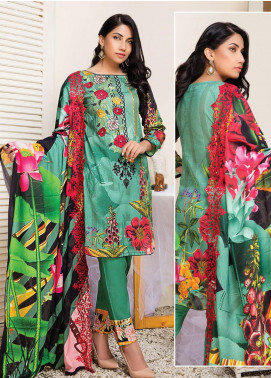 Master Fabrics Embroidered Lawn Unstitched 3 Piece Suit MF20HL 31 - Summer Collection