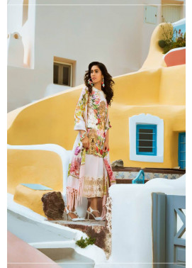 Honey Waqar By ZS Textile Embroidered Lawn Unstitched 3 Piece Suit HW17L 3B
