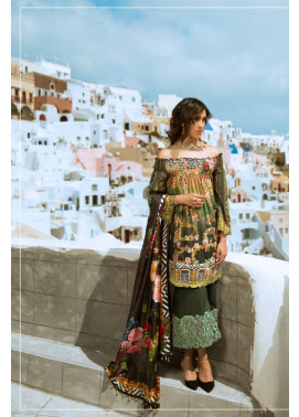 Honey Waqar By ZS Textile Embroidered Lawn Unstitched 3 Piece Suit HW17L 5A