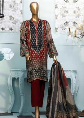 HZ Textiles Printed Jacquard Unstitched 3 Piece Suit HZ20T 105 - Spring / Summer Collection