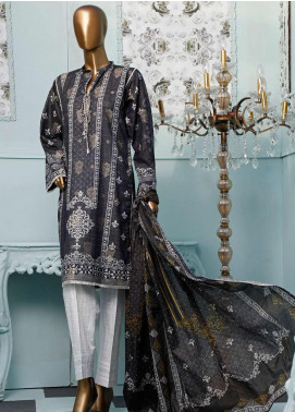 HZ Textiles Printed Jacquard Unstitched 3 Piece Suit HZ20T 107 - Spring / Summer Collection