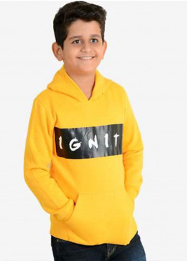 Ignite Wardrobe Cotton Casual Hoodie for Boys -  IG20HDK 001