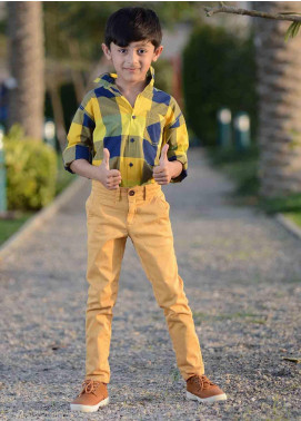 Ignite Wardrobe Cotton Chino Boys Pants -  IG20PNK 002
