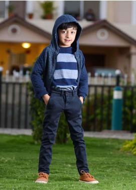 Ignite Wardrobe Cotton Chino Pants for Boys -  IG20PNK 003
