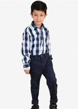 Ignite Wardrobe Pigmet Dyed Pants for Boys -  IG20PNK 009