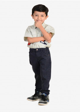 Ignite Wardrobe Cotton Casual Boys Pants -  IG20PNK 014
