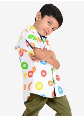 Ignite Wardrobe Cotton Printed Boys Shirts -  IG20SHK 002