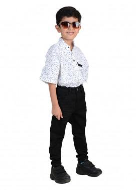 Ignite Wardrobe Cotton Printed Shirts for Boys -  IG20SHK 003