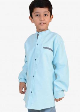 Ignite Wardrobe Cotton Plain Boys Shirts -  IG20SHK 004