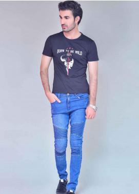 Ignite Wardrobe Cotton Slim Fit Jeans for Men -  IG20JNM 001