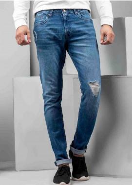 Ignite Wardrobe Cotton Distressed  Jeans for Men -  IG20JNM 005