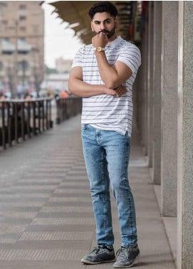 Ignite Wardrobe Cotton Stretchable Men Jeans -  IG20JNM 012