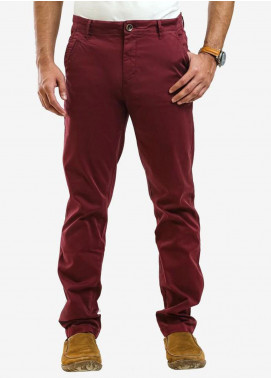 Ignite Wardrobe Cotton Slim Fit Chino Men Pants -  IG20PNM 032