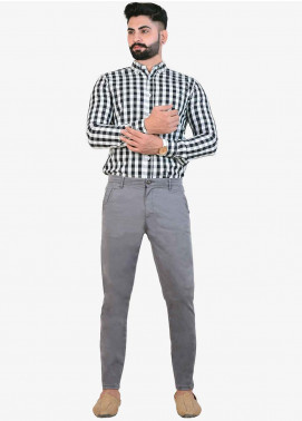 Ignite Wardrobe Cotton Stretchable Chino Pants for Men -  IG20PNM 033
