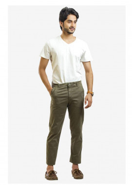 Ignite Wardrobe Cotton Stretchable Chino Pants for Men -  IG20PNM 035