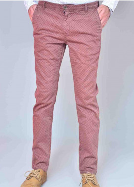 Ignite Wardrobe Cotton Printed Chino Pants for Men -  IG20PNM 043