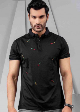 Ignite Wardrobe Polyester Embroidered Polo Shirt for Men -  IG20POM 007