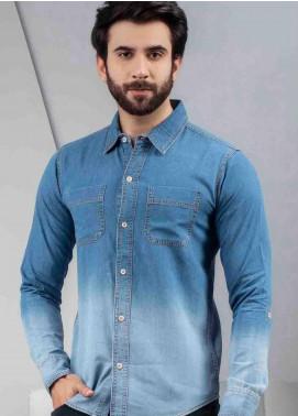 Ignite Wardrobe Cotton Dip Dye Effect Men Shirts -  IG20SHM 010