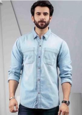 Ignite Wardrobe Cotton Denim  Men Shirts -  IG20SHM 012