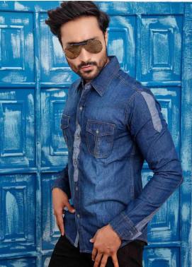 Ignite Wardrobe Cotton Contrasting Men Shirts -  IG20SHM 014