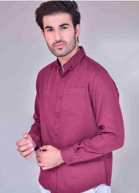 Ignite Wardrobe Cotton Phoenix Button Down Men Shirts -  IG20SHM 020
