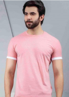 Ignite Wardrobe Cotton Round Neck Half Sleeves Men T-Shirts -  IG20TSM 004