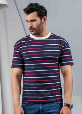 Ignite Wardrobe Cotton Round Neck Half Sleeves Men T-Shirts -  IG20TSM 008