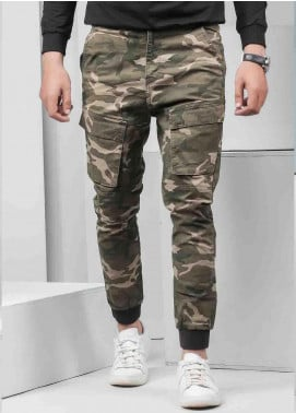 Ignite Wardrobe Cotton Camouflage  Men Trouser -  IG20TRM 002