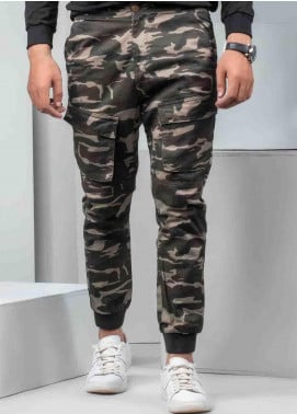 Ignite Wardrobe Cotton Camouflage  Trouser for Men -  IG20TRM 003