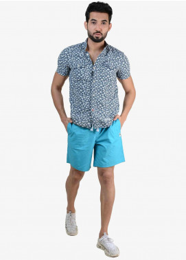 Ignite Wardrobe Cotton Bermuda Plain Shorts for Men -  IG20SOM 001