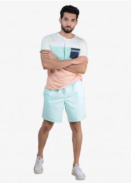 Ignite Wardrobe Cotton Bermuda Plain Shorts for Men -  IG20SOM 003