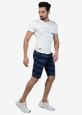 Ignite Wardrobe Cotton Strips Shorts for Men -  IG20SOM 013