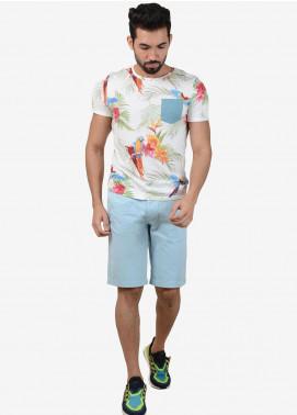 Ignite Wardrobe Cotton Stretchable  Shorts for Men -  IG20SOM 019