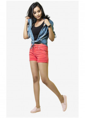 Ignite Wardrobe Stretchable Cotton Shorts IG20HPW 002