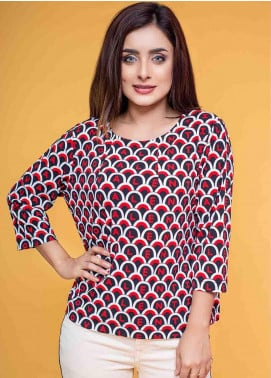 Ignite Wardrobe Printed Polyester Top IG20TOW 050