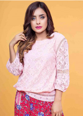 Ignite Wardrobe Lace Net Top IG20TOW 051