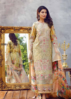 Imperial Textile Embroidered Lawn Unstitched 3 Piece Suit IM17E2 06