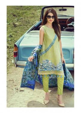Saffron By Imperial Textile Embroidered Lawn Unstitched 3 Piece Suit IM17S 6B