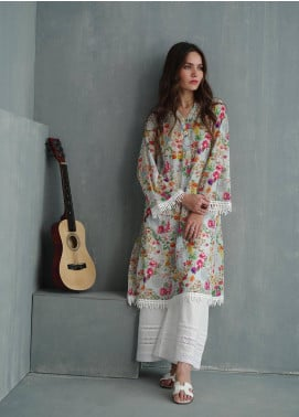 Image Printed Cotton Stitched Kurtis IMG19PP P-803 FLOWER DOSE