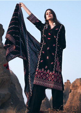 Image Embroidered Khaddar Unstitched 3 Piece Suit IMG20W 1 Sefa - Winter Collection