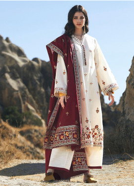 Image Embroidered Khaddar Unstitched 3 Piece Suit IMG20W 2 Elif - Winter Collection