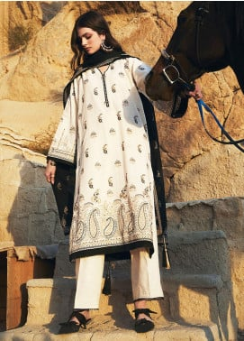 Image Embroidered Khaddar Unstitched 3 Piece Suit IMG20W 4 Ayla - Winter Collection
