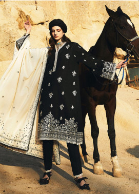 Image Embroidered Khaddar Unstitched 3 Piece Suit IMG20W 9 Esra - Winter Collection