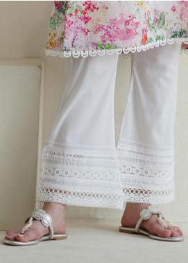 Image Cotton Stitched Shalwar Embellished with Laces  IMG19B T-222 Nimbus
