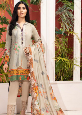 Iman by Regalia Textiles Embroidered Lawn Unstitched 3 Piece Suit RG20-IE2 3 - Summer Collection